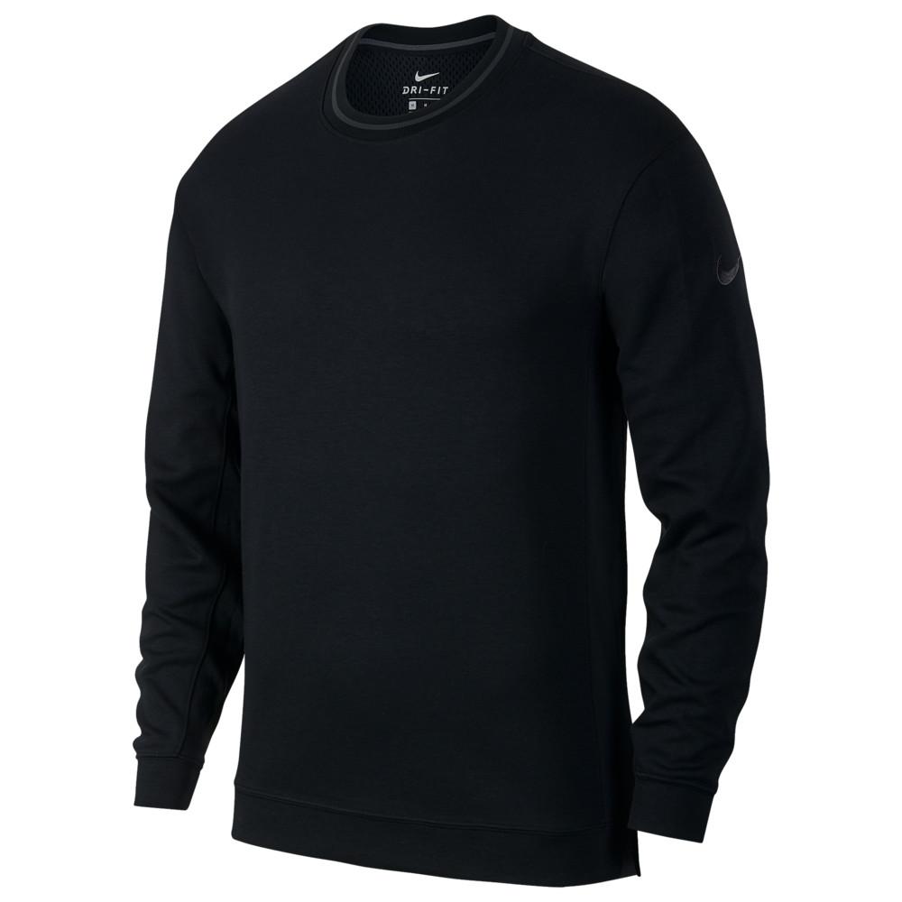 ナイキ Nike メンズ バスケットボール トップス【Hoopxfly L/S Top】Black/Anthracite