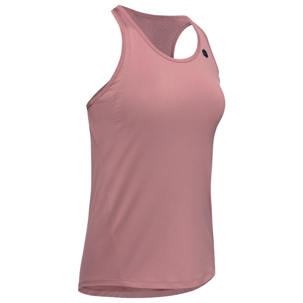 アンダーアーマー Under Armour レディース フィットネス・トレーニング タンクトップ トップス【Rush Tank】Hushed Pink