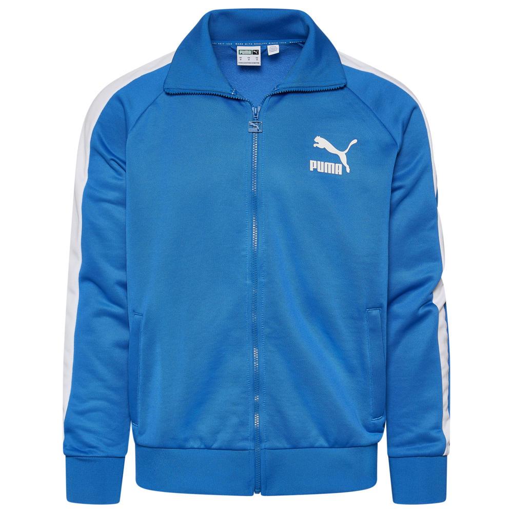 プーマ PUMA メンズ ジャージ アウター【Iconic T7 Track Jacket】Palace Blue