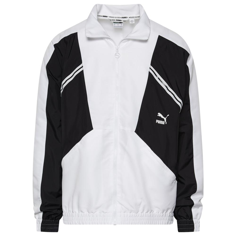 プーマ PUMA メンズ ジャージ アウター【TFS Woven Jacket】Puma White