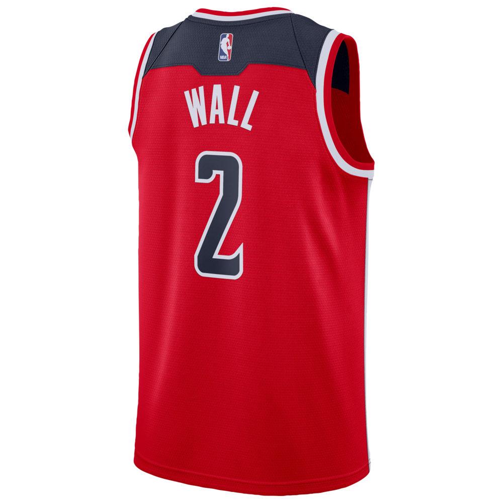 ナイキ Nike メンズ バスケットボール トップス【NBA Swingman Jersey】NBA Washington Wizards John Wall Red