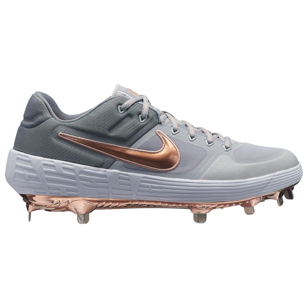 ナイキ Nike メンズ 野球 シューズ・靴【Alpha Huarache Elite 2 Low】Wolf Grey/Metallic Red Bronze/Cool Grey