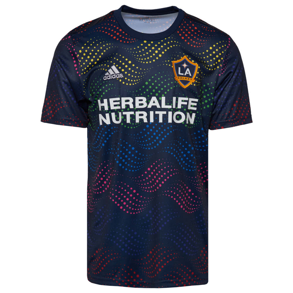 アディダス adidas メンズ サッカー ジャージ トップス【MLS Pre Match Jersey】MLS Los Angeles Galaxy Multi Pride