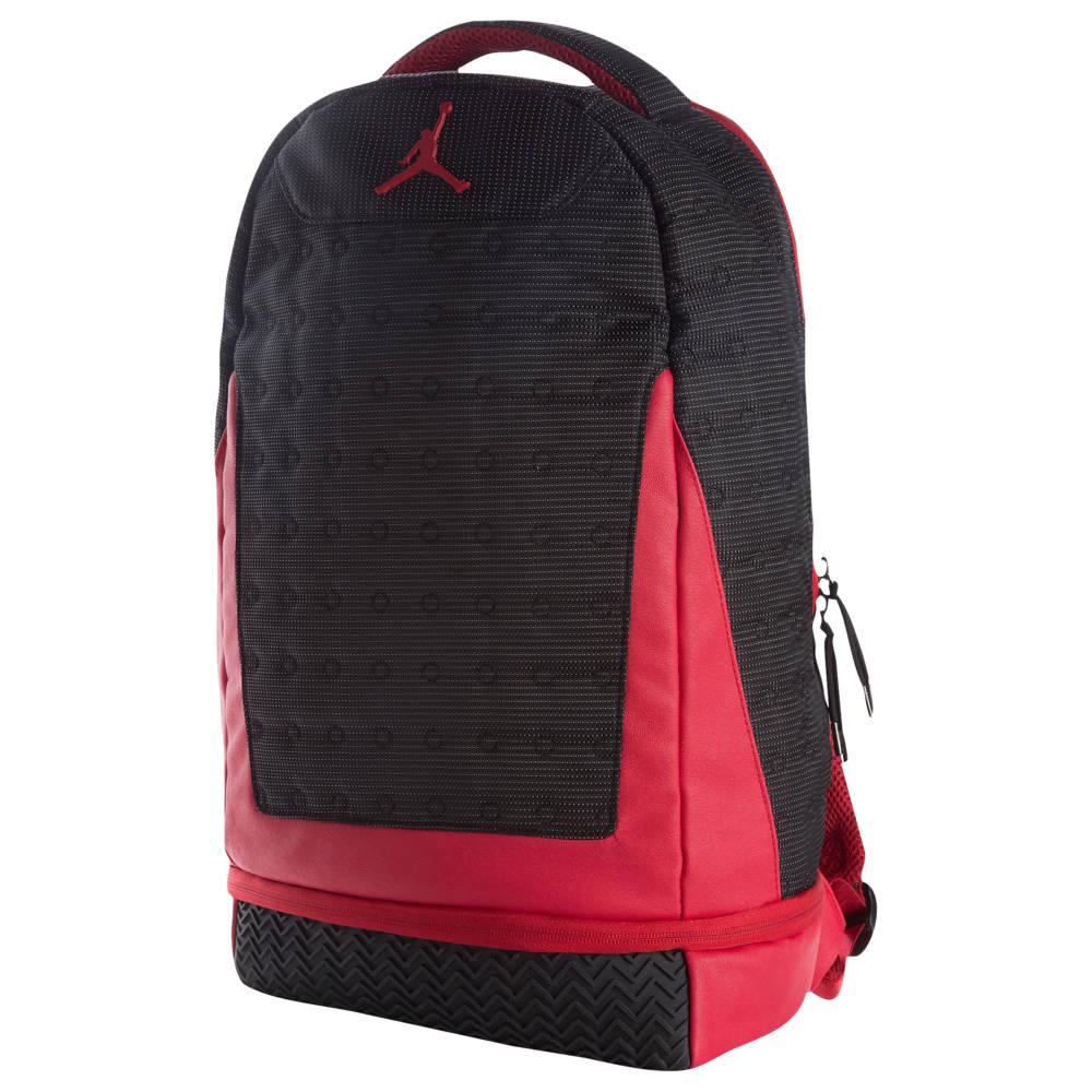 ナイキ ジョーダン Jordan ユニセックス バックパック・リュック バッグ【Retro 13 Backpack】Black/Gym Red