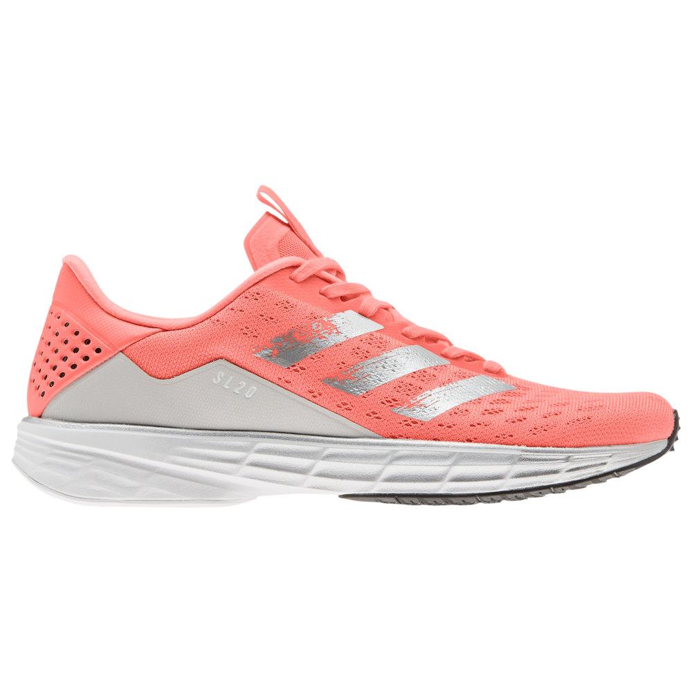 アディダス adidas レディース ランニング・ウォーキング シューズ・靴【SL20】Signal Coral/Silver Metallic/Core Black Faster Than