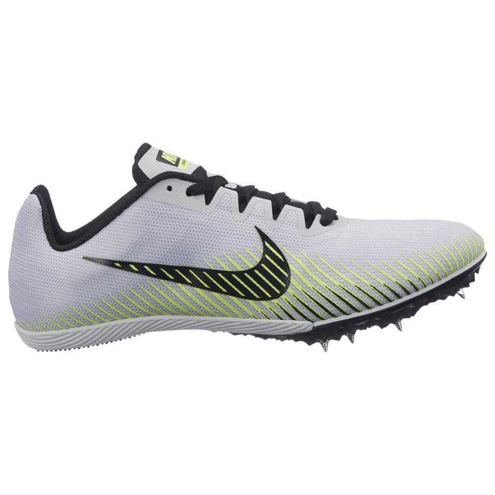 ナイキ Nike レディース 陸上 シューズ・靴【Zoom Rival M 9】Pure Platinum/Black/Volt Glow