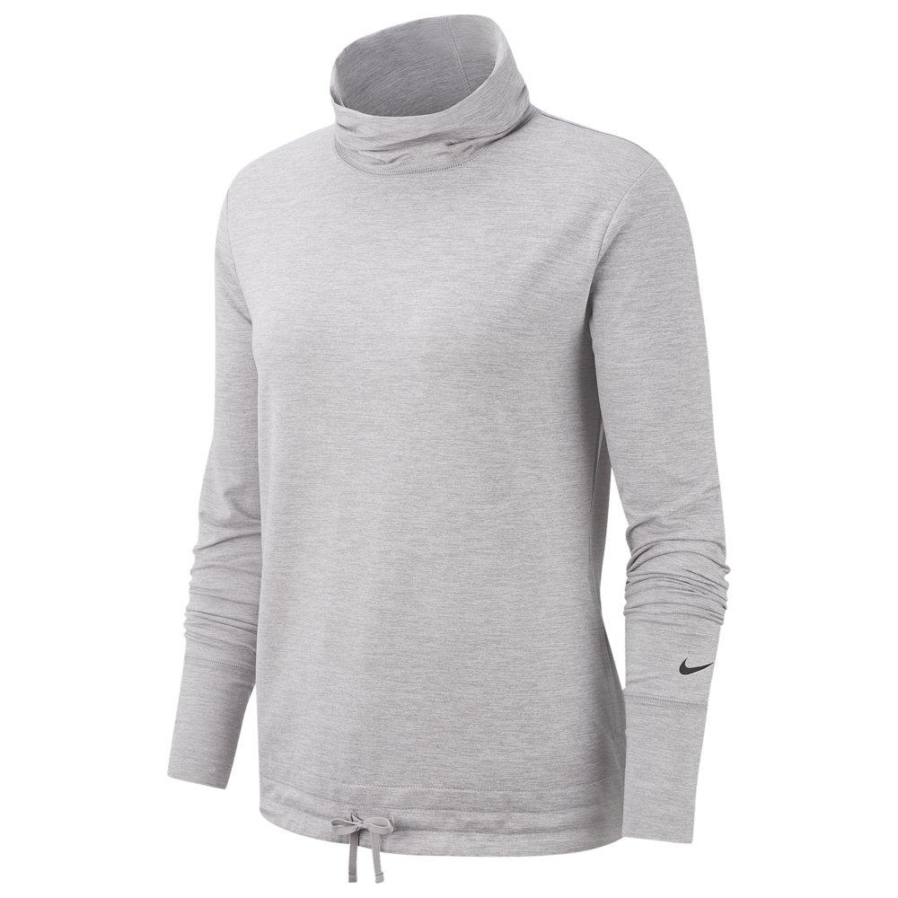 ナイキ Nike レディース フィットネス・トレーニング トップス【Yoga Funnel Coverup】Atmosphere Grey/Heather/Black