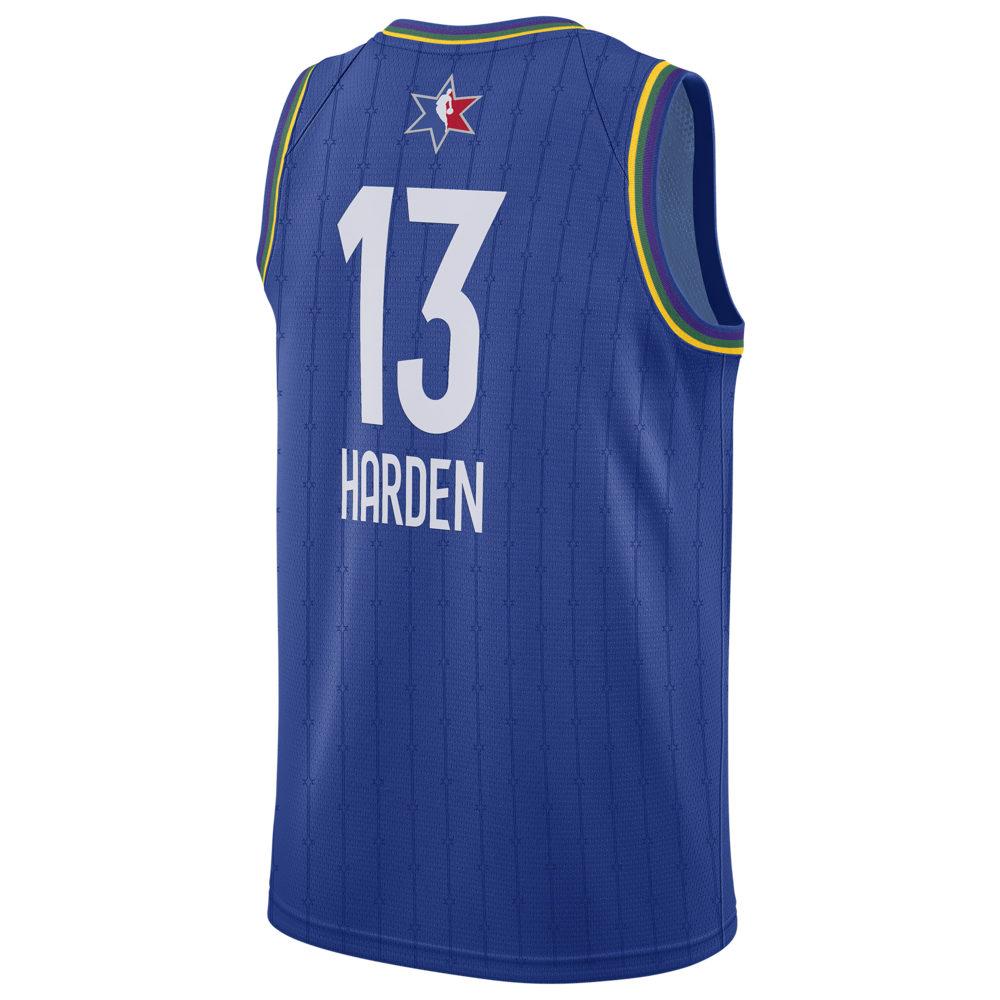 ナイキ ジョーダン Jordan メンズ バスケットボール トップス【NBA All-Star Game Swingman Jersey】NBA Houston Rockets James Harden Blue