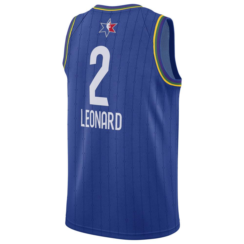 ナイキ ジョーダン Jordan メンズ バスケットボール トップス【NBA All-Star Game Swingman Jersey】NBA Toronto Raptors Kawhi Leonard Blue