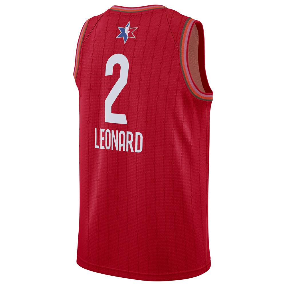ナイキ ジョーダン Jordan メンズ バスケットボール トップス【NBA All-Star Game Swingman Jersey】NBA Toronto Raptors Kawhi Leonard Red