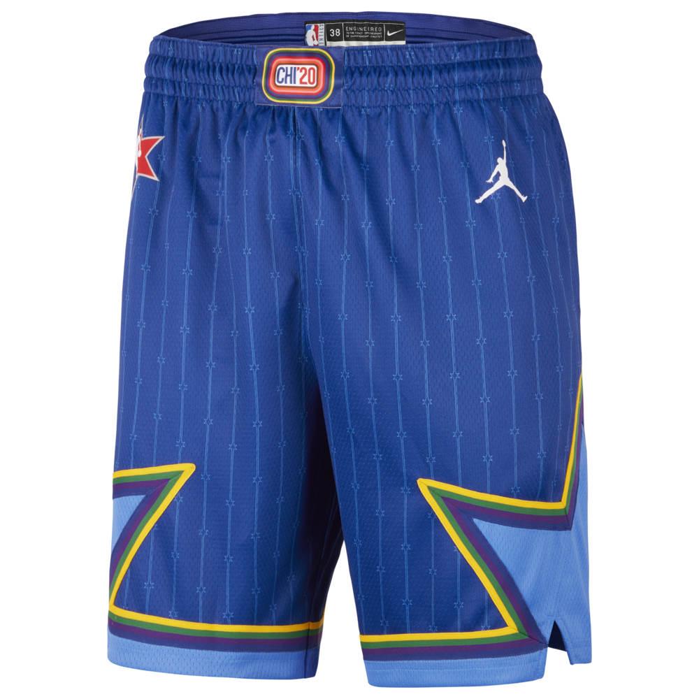 ナイキ ジョーダン Jordan メンズ バスケットボール ショートパンツ ボトムス・パンツ【NBA All-Star Game Swingman Shorts】NBA NBA All-Star Rush Blue