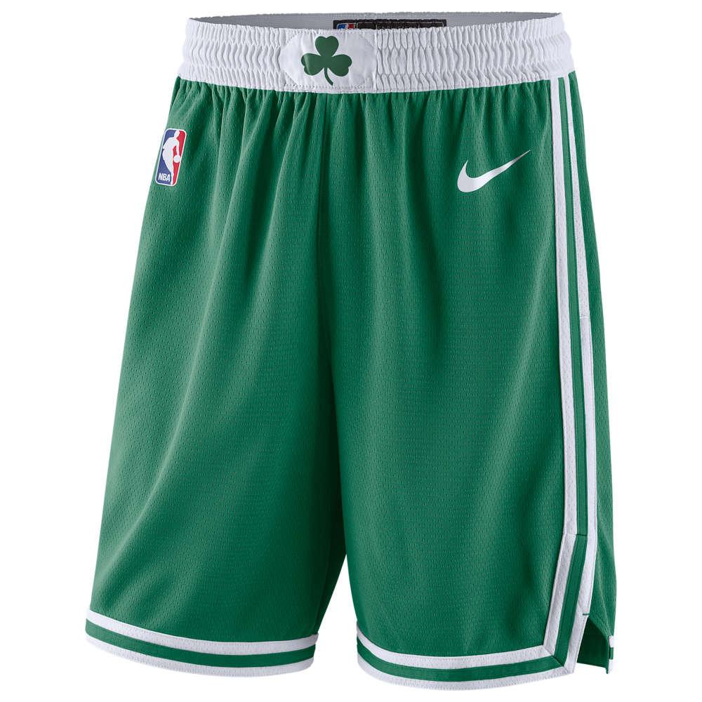 ナイキ Nike メンズ バスケットボール ショートパンツ ボトムス・パンツ【NBA Swingman Shorts】NBA Boston Celtics Clover/White