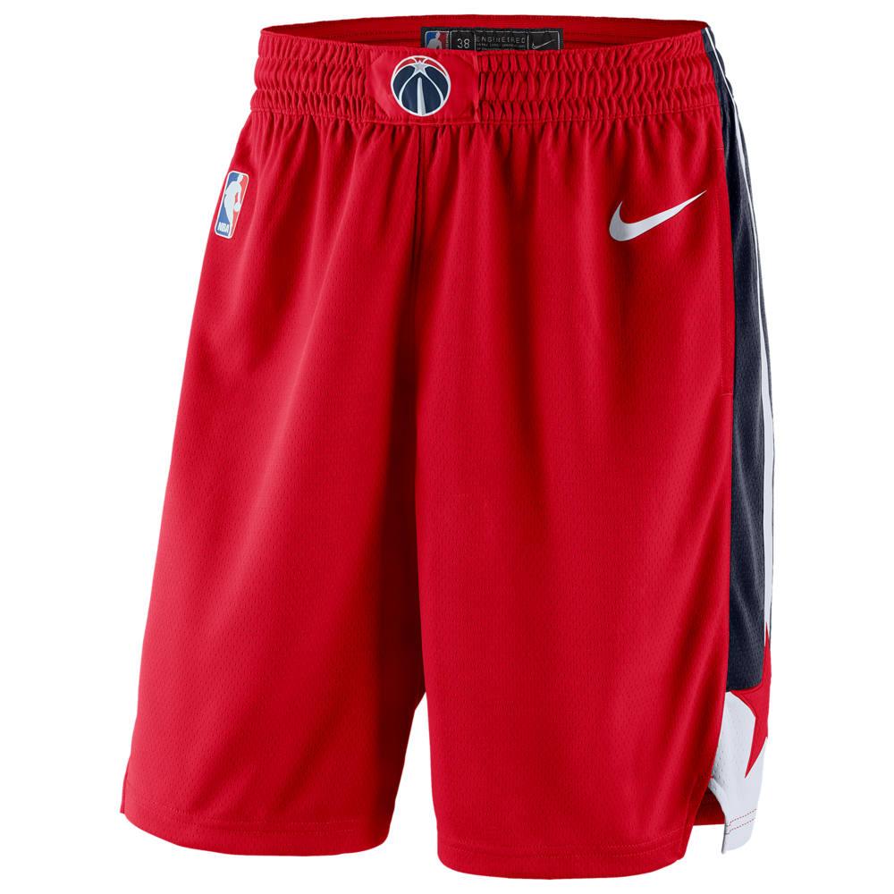 ナイキ Nike メンズ バスケットボール ショートパンツ ボトムス・パンツ【NBA Swingman Shorts】NBA Washington Wizards University Red/College Navy