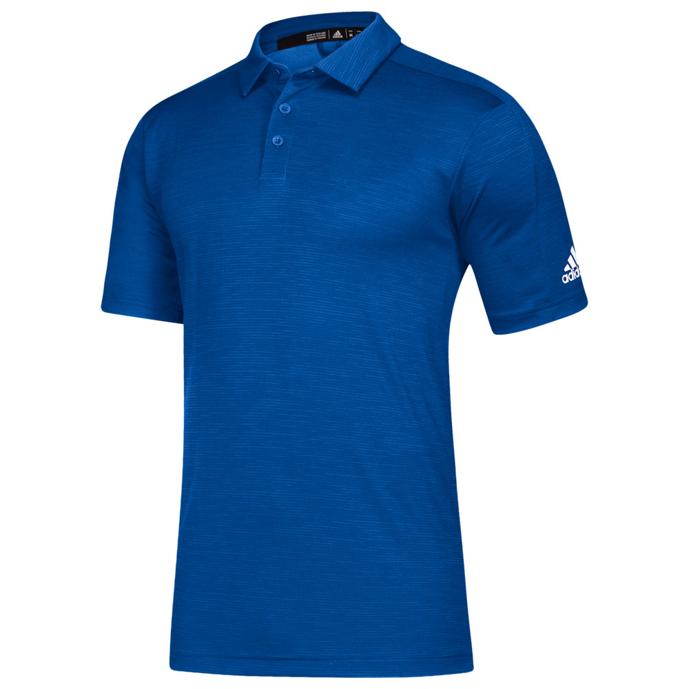 アディダス adidas メンズ ポロシャツ トップス【Team Game Mode Polo】Collegiate Royal Melange/White