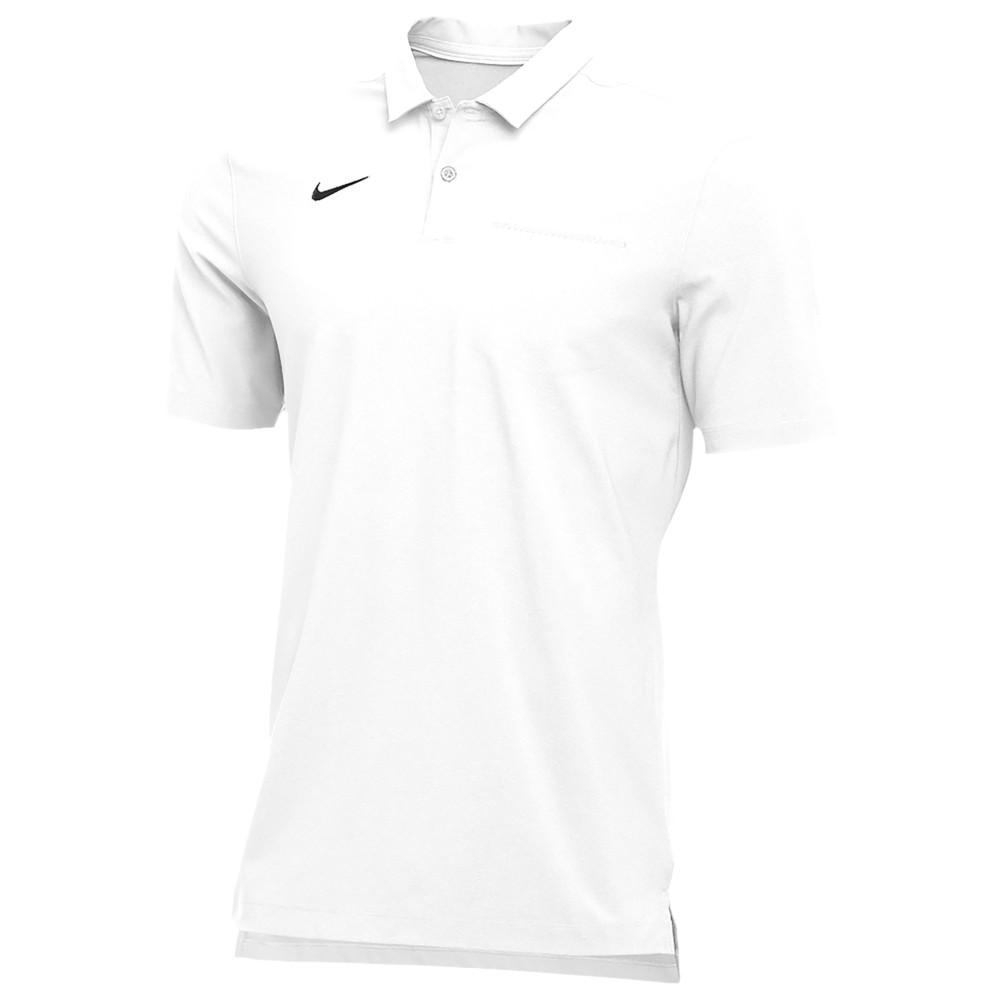 ナイキ Nike メンズ ポロシャツ トップス【Team Authentic Dry S/S Elite Polo】White/Black