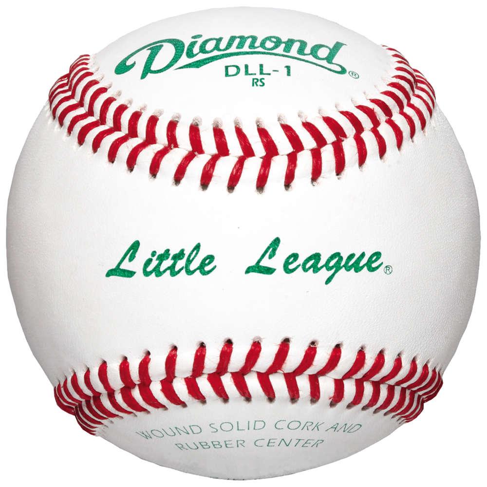 ダイアモンド Diamond ユニセックス 野球 【DLL-1 Little League Competition Baseball】Sold as a Dozen
