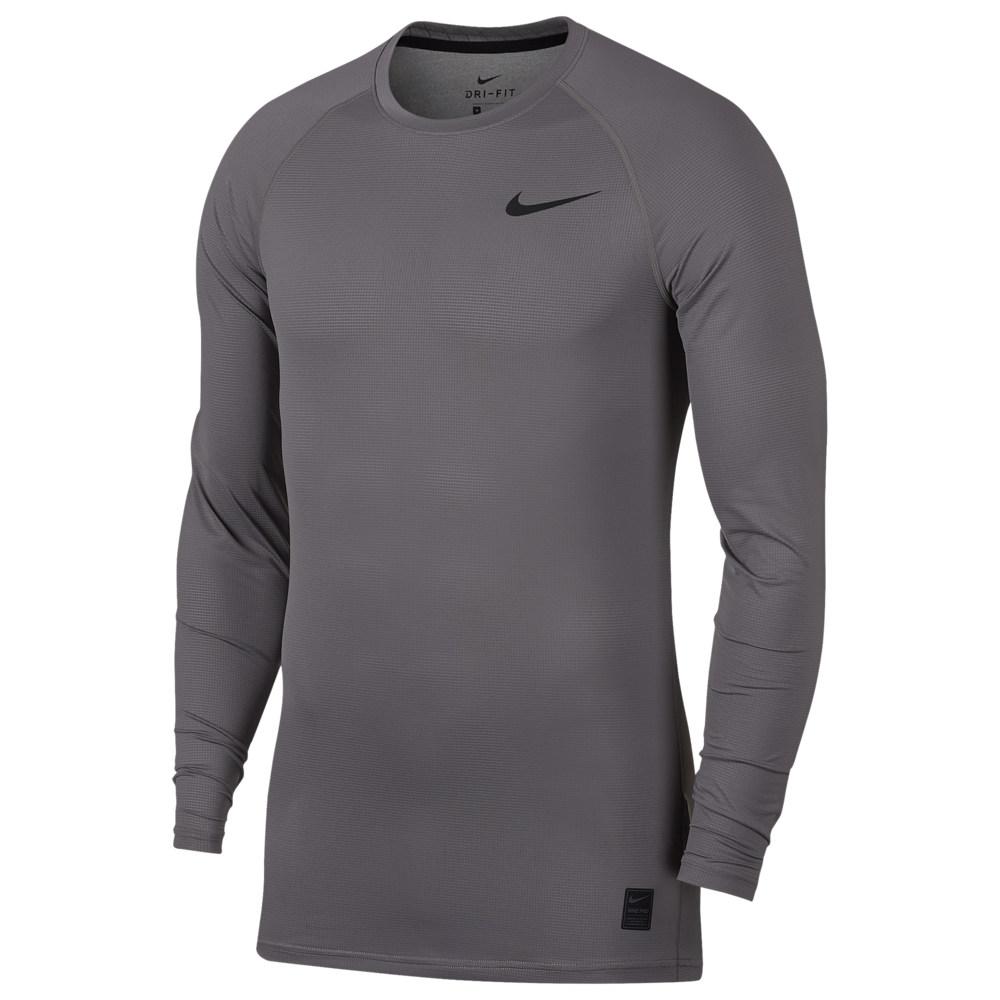 ナイキ Nike メンズ フィットネス・トレーニング トップス【Pro Breathe Compression Long Sleeve Top】Gunsmoke/Gunsmoke