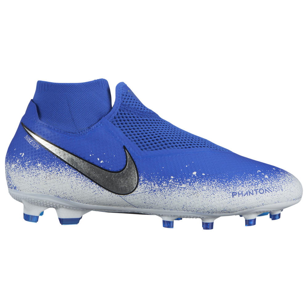 ナイキ Nike メンズ サッカー シューズ・靴【Phantom Vision Pro DF FG】Racer Blue/Chrome/White Euphoria