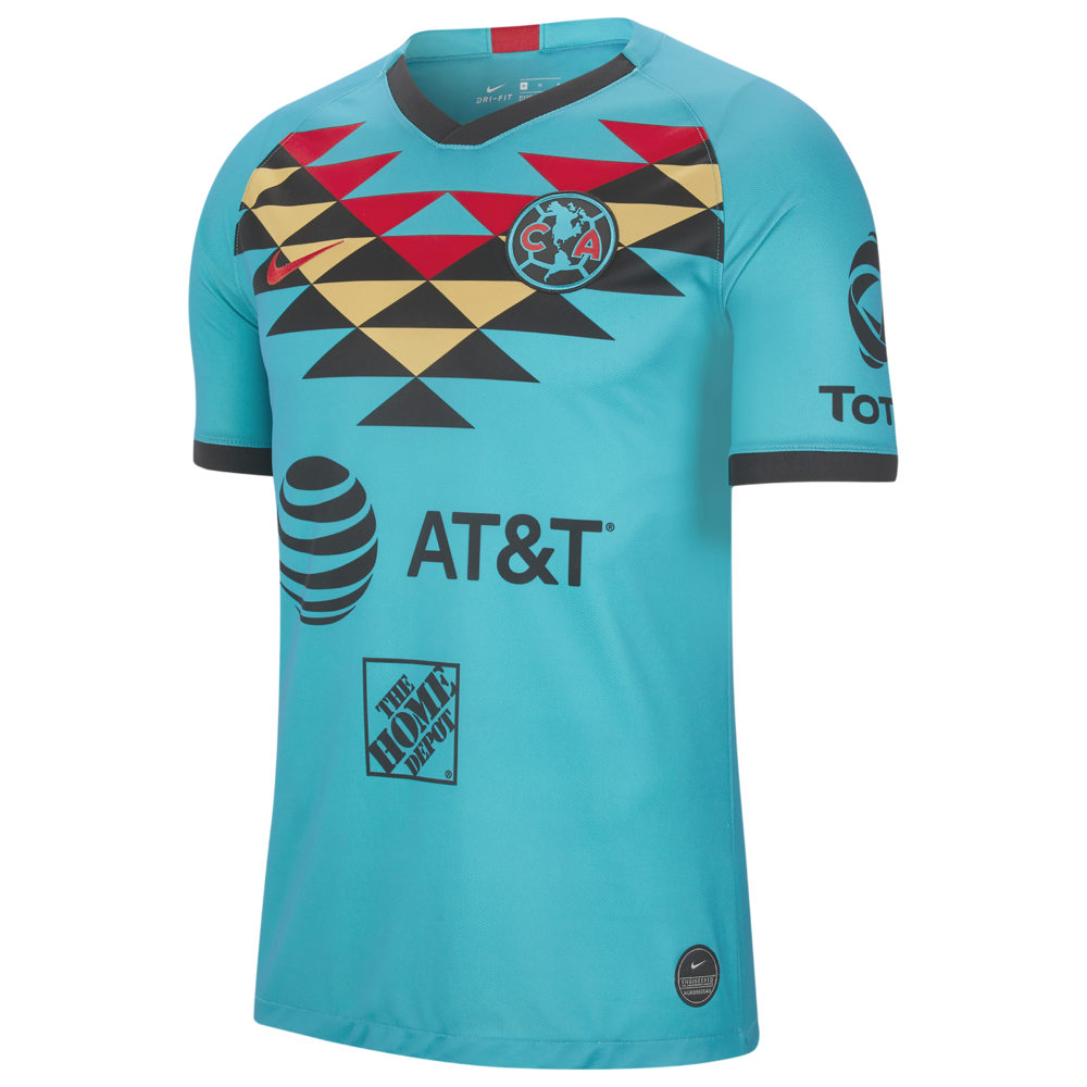 ナイキ Nike メンズ サッカー ユニフォーム トップス【Soccer Breathe Stadium Jersey】Soccer International Clubs Club America Turbo Green/Black/Sport Red