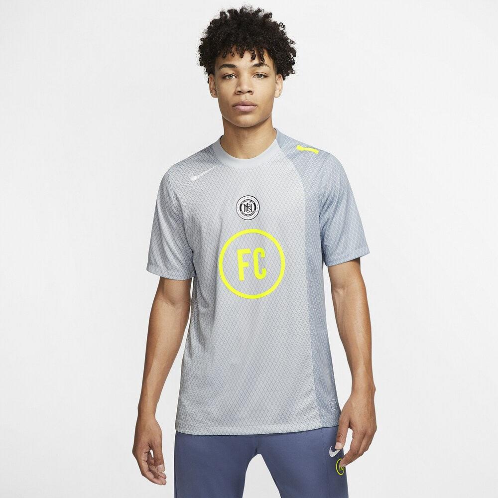 ナイキ Nike メンズ サッカー ジャージ トップス【FC Away Jersey】Obsidian Mist/Pure Platinum