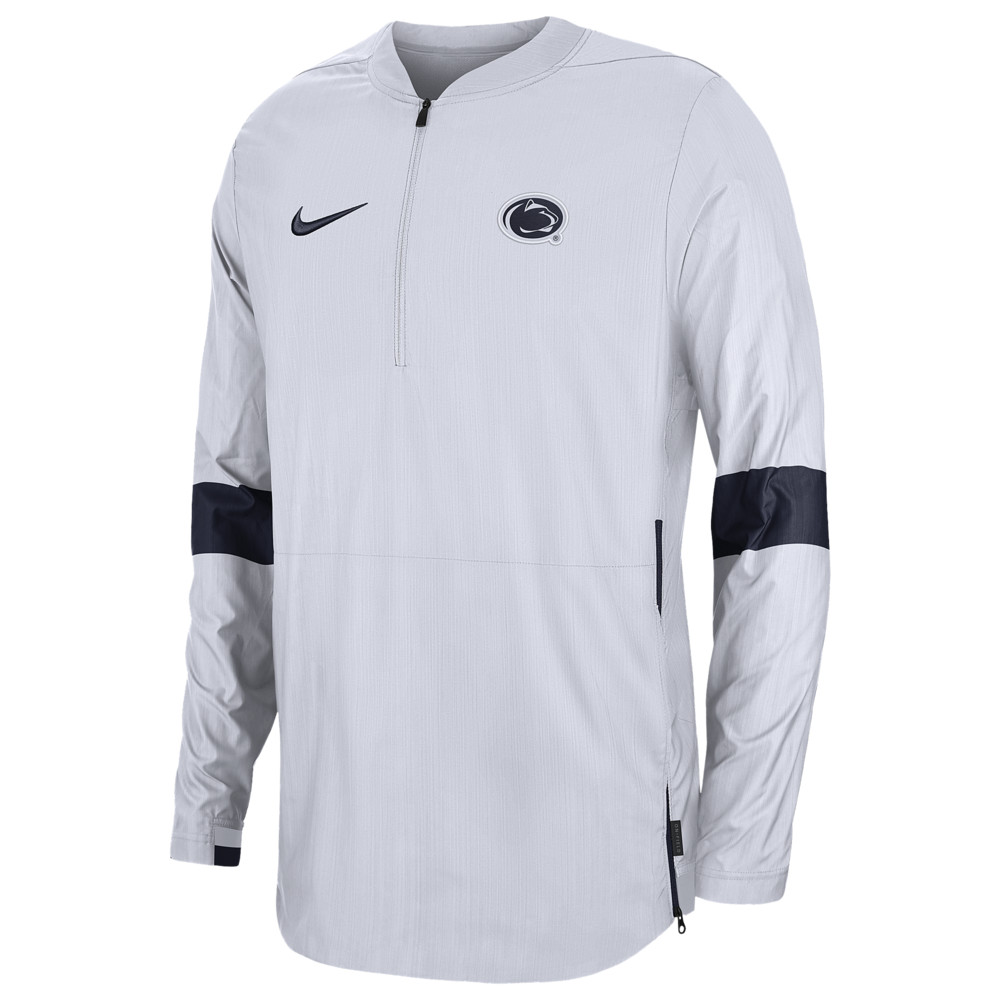 ナイキ Nike メンズ ジャケット アウター【College Lightweight Woven Sideline Jacket】White