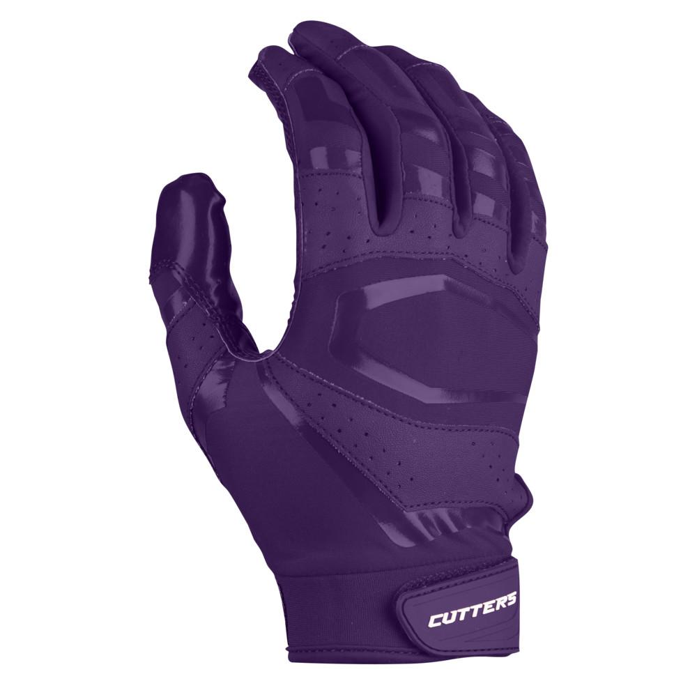 カッターズ Cutters メンズ アメリカンフットボール レシーバーグローブ グローブ【Rev Pro 3.0 Solid Receiver Gloves】Purple Exclusive