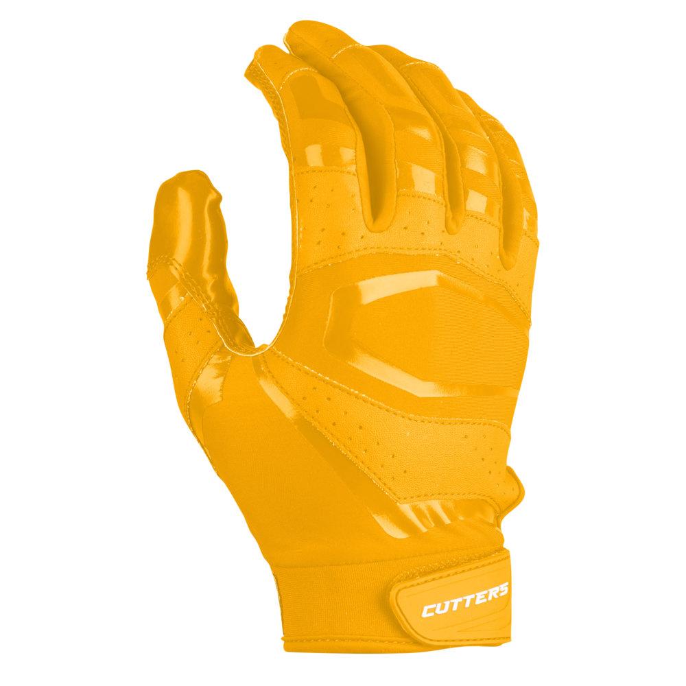 カッターズ Cutters メンズ アメリカンフットボール レシーバーグローブ グローブ【Rev Pro 3.0 Solid Receiver Gloves】Gold Exclusive