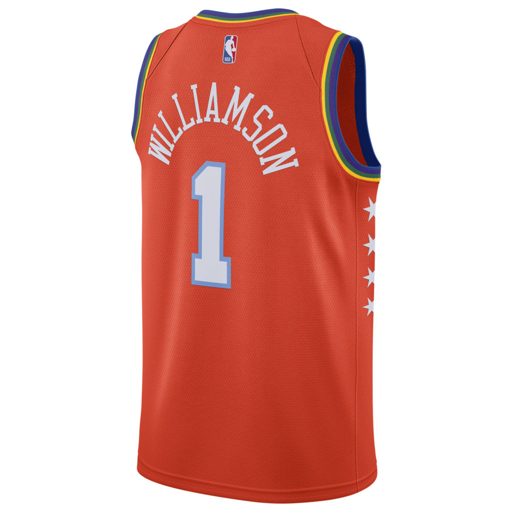 ナイキ ジョーダン Jordan メンズ バスケットボール トップス【NBA Rising Stars Swingman Jersey】NBA New Orleans Pelicans Zion Williamson Team Orange
