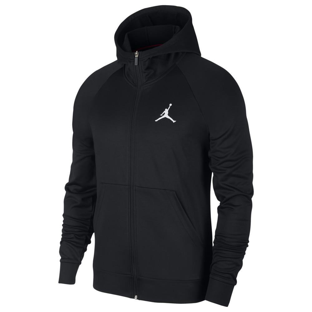 ナイキ ジョーダン Jordan メンズ バスケットボール パーカー トップス【23 Alpha Therma Fleece Full-Zip Hoodie】Black/White