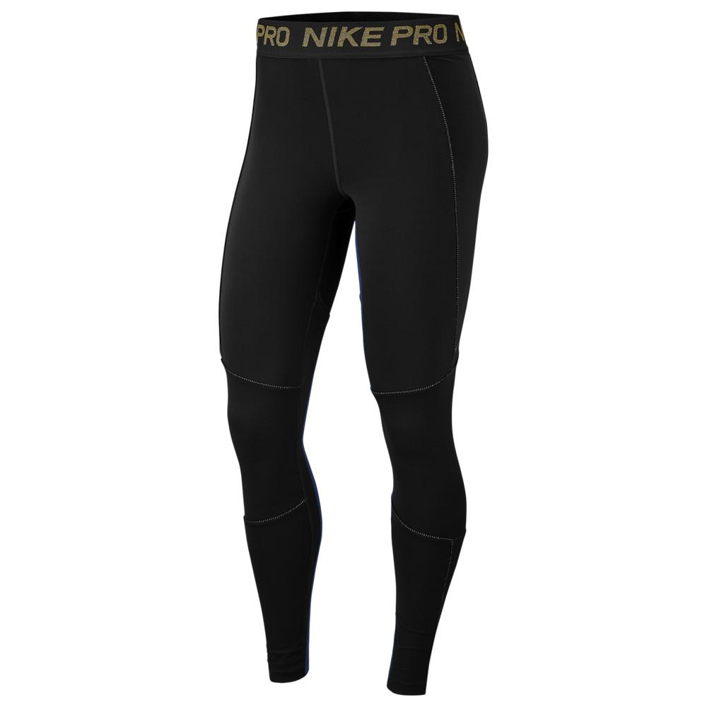ナイキ Nike レディース フィットネス・トレーニング スパッツ・レギンス ボトムス・パンツ【Pro Fierce 7/8 Tights】Black