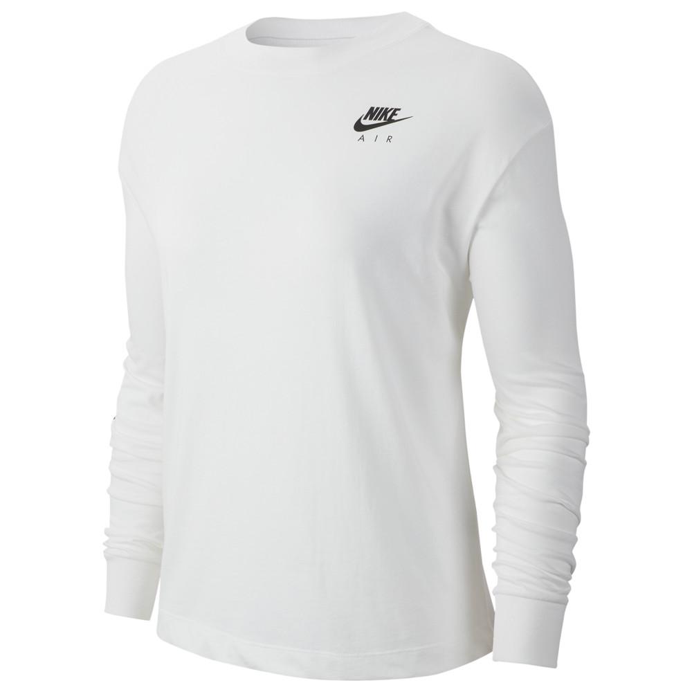 ナイキ Nike レディース トップス 【Air Top Long Sleeve】White