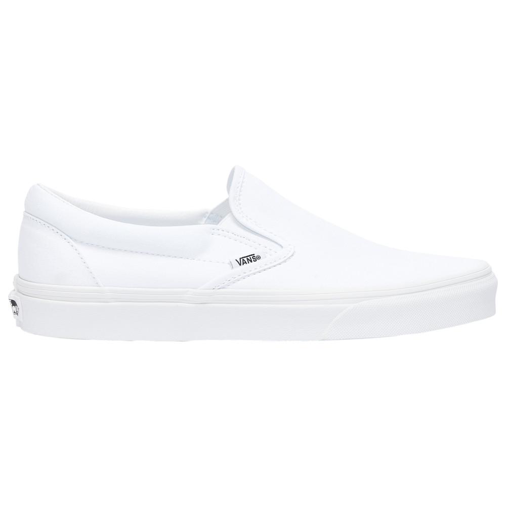 ヴァンズ Vans メンズ スケートボード スリッポン シューズ・靴【Classic Slip On】True White