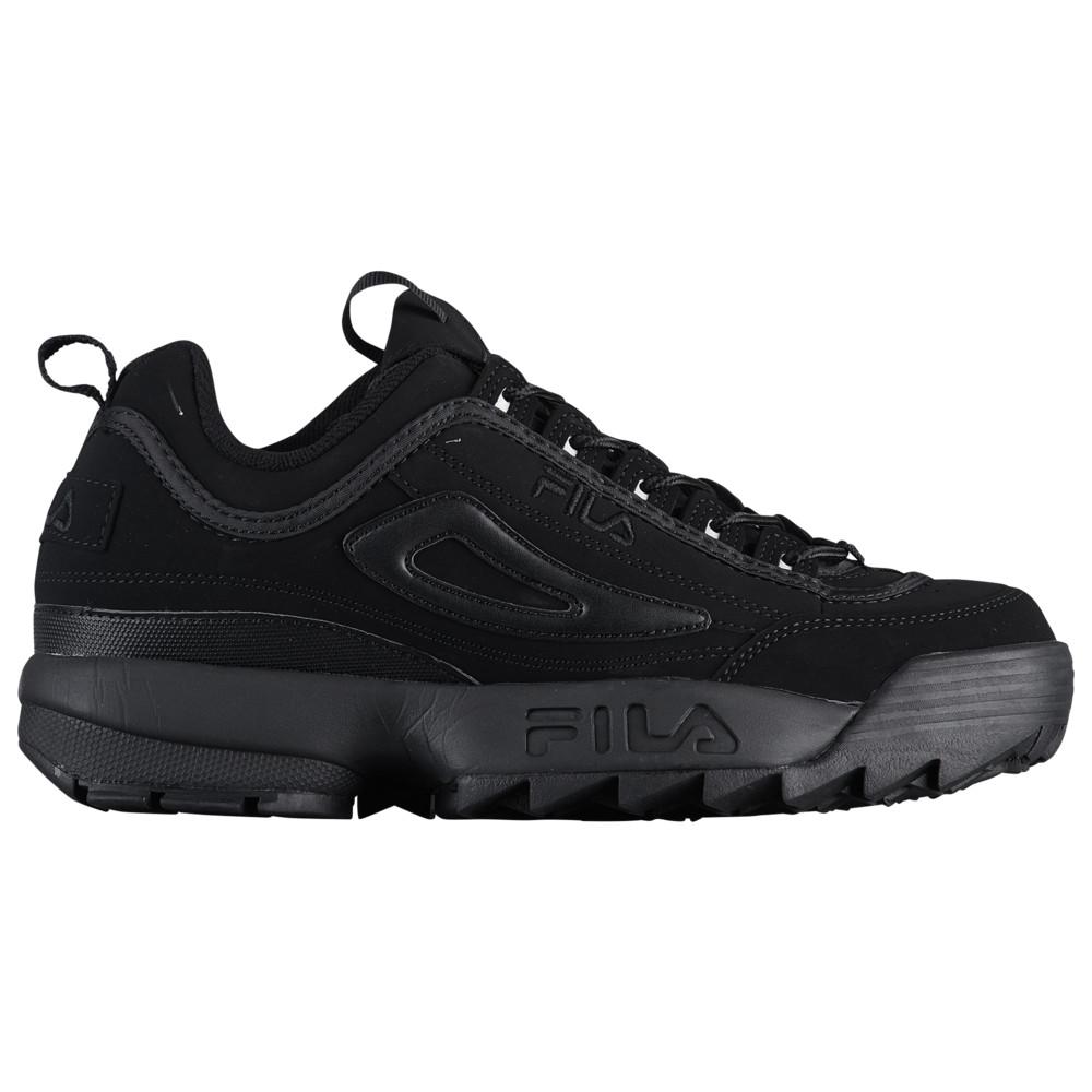 フィラ Fila メンズ フィットネス・トレーニング シューズ・靴【Disruptor II】Black/Black/Black