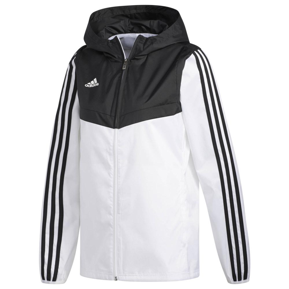 アディダス adidas Athletics レディース ジャケット ウィンドブレーカー アウター【Tiro 19 Windbreaker】White/Black