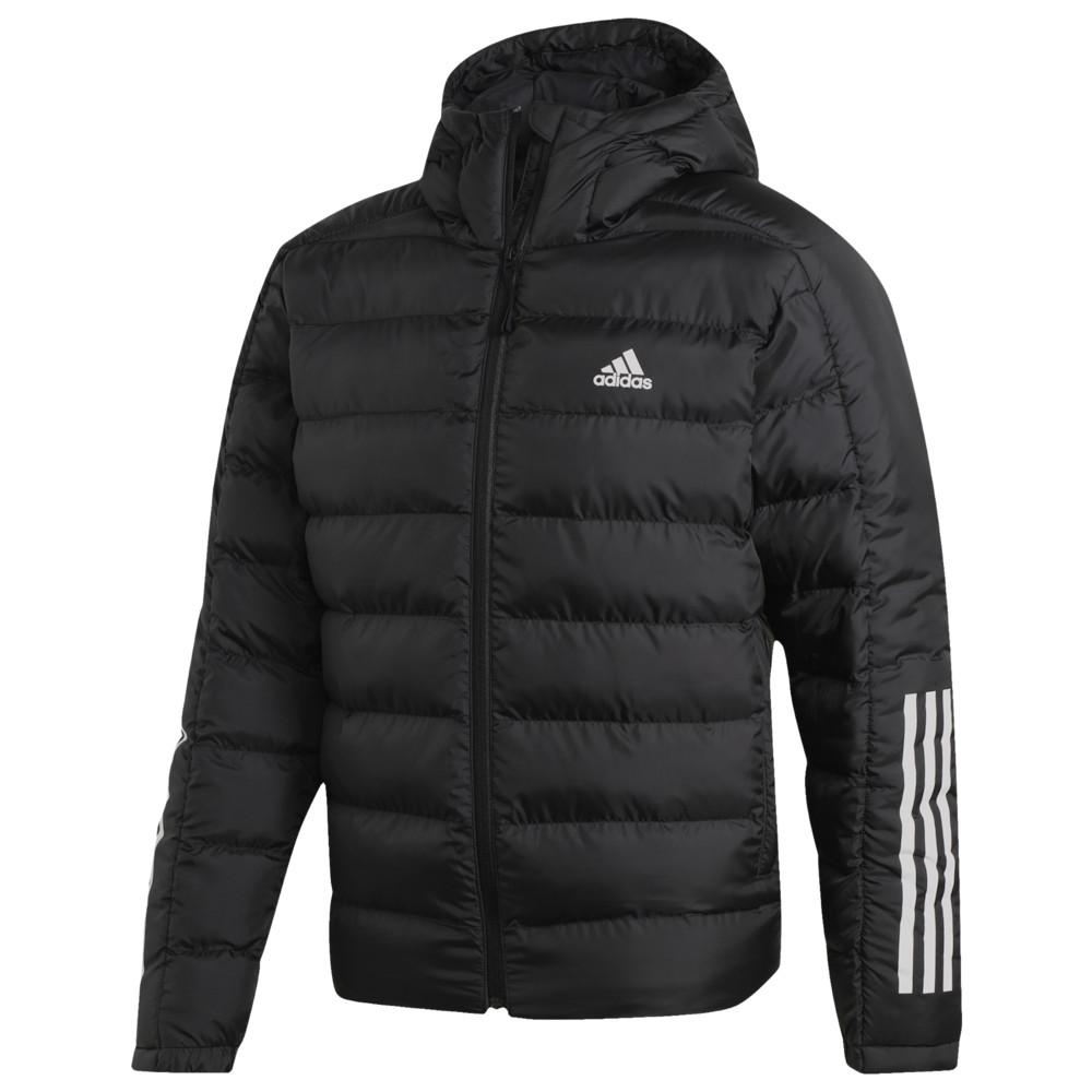 アディダス adidas Athletics メンズ ダウン・中綿ジャケット フード アウター【Itavic 3 Stripe 2.0 Hooded Jacket】Black