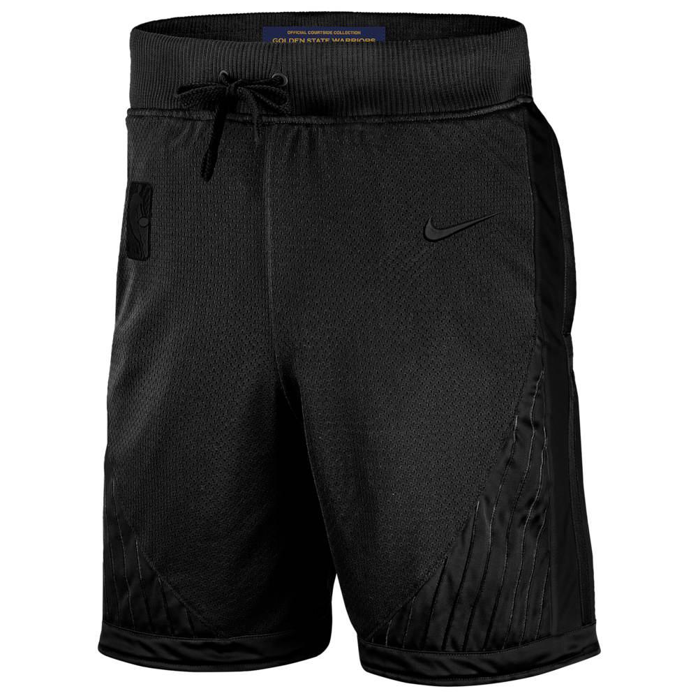 ナイキ Nike メンズ バスケットボール ショートパンツ ボトムス・パンツ【NBA MVP Icon Courtside Shorts】NBA/Golden State Warriors/Black
