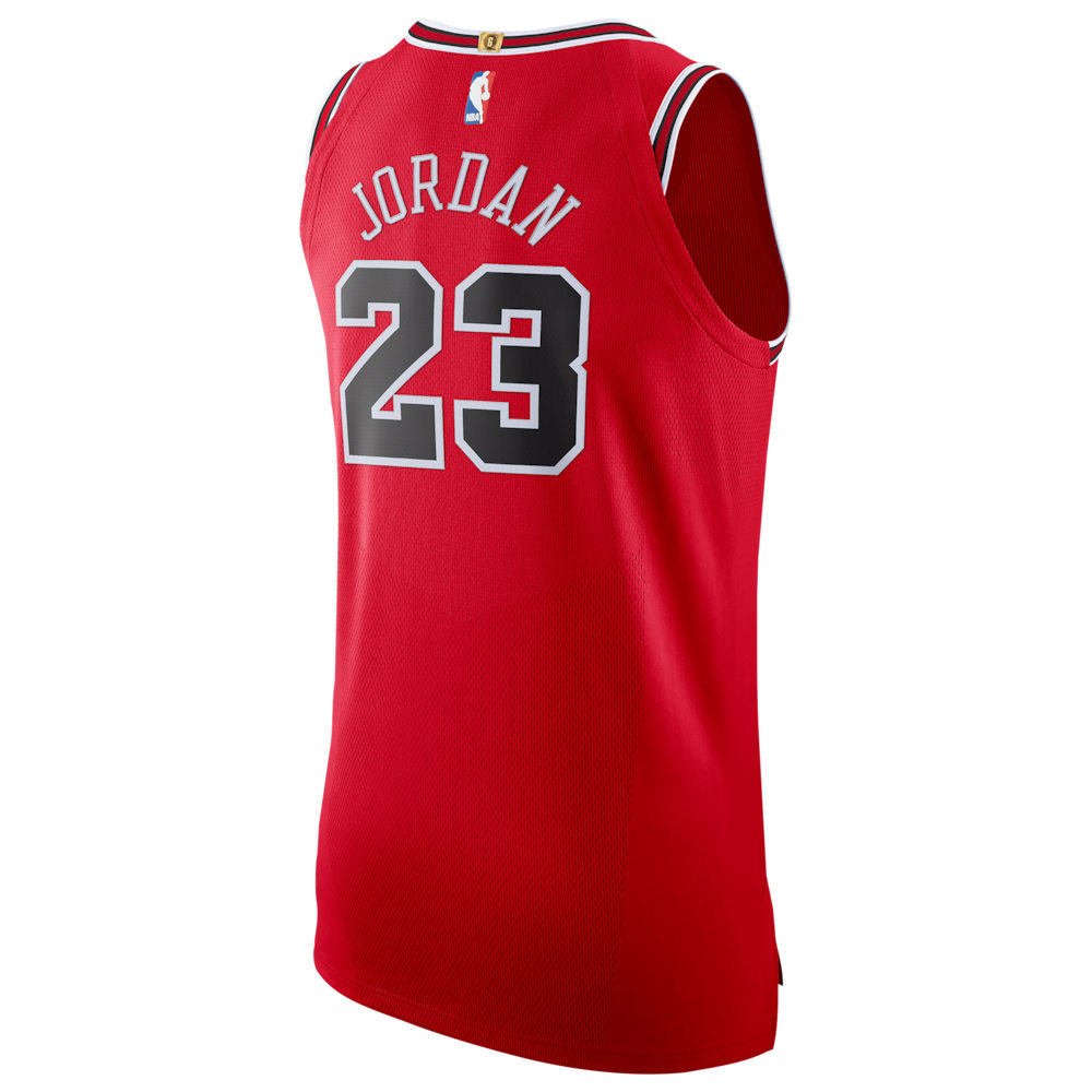 ナイキ Nike メンズ バスケットボール トップス【NBA Authentic Jersey】NBA/Chicago Bulls/Michael Jordan/Red/Box Collection