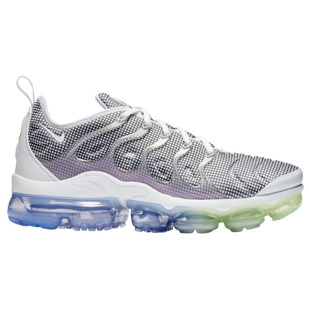 ナイキ Nike メンズ ランニング・ウォーキング シューズ・靴【Air Vapormax Plus】White/Black/Aluminum/Barely Volt