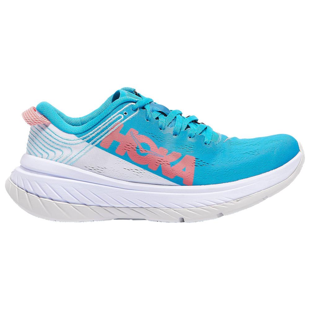 ホカ オネオネ HOKA ONE ONE レディース ランニング・ウォーキング シューズ・靴【Carbon X】Caribbean Sea/White