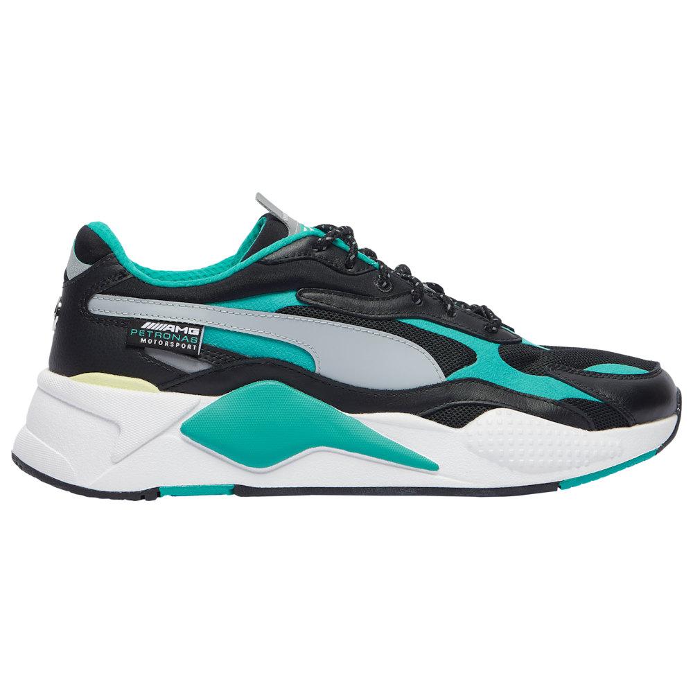 プーマ PUMA メンズ ランニング・ウォーキング シューズ・靴【RS-X3】Black/Spectra Green/White