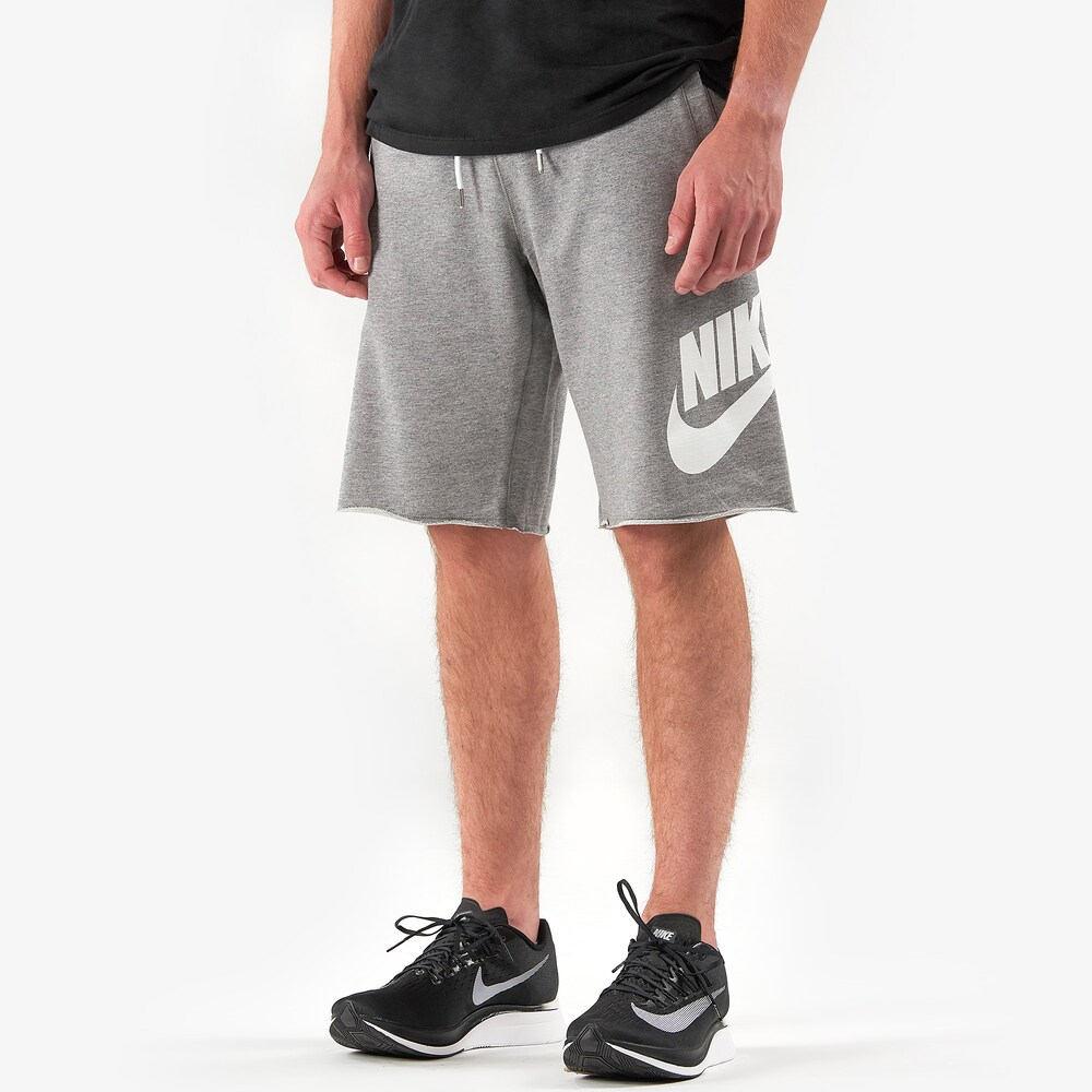 ナイキ Nike メンズ ショートパンツ ボトムス・パンツ【GX Alumni Shorts】Carbon Heather/White