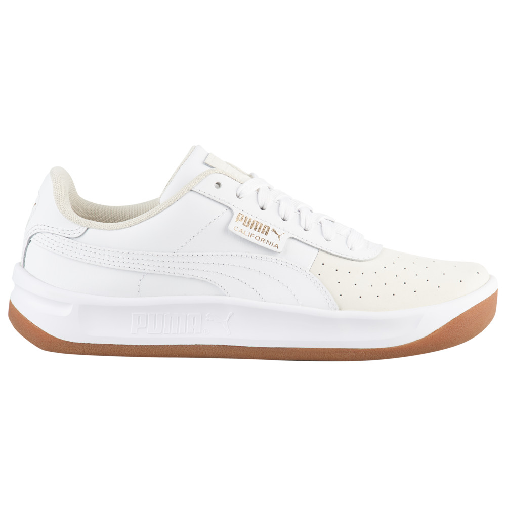 プーマ PUMA レディース テニス シューズ・靴【California Exotic】Whisper White/White/Team Gold