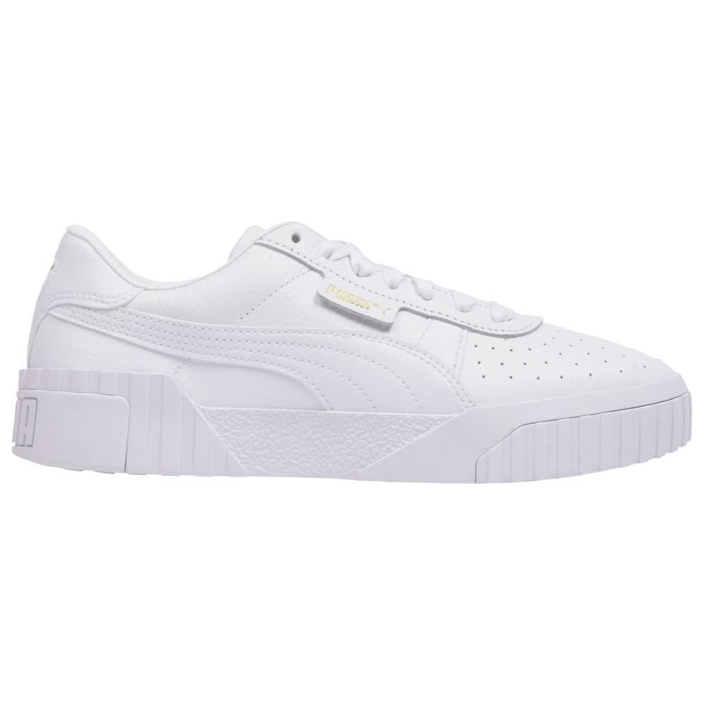 プーマ PUMA レディース フィットネス・トレーニング シューズ・靴【Cali】White/White
