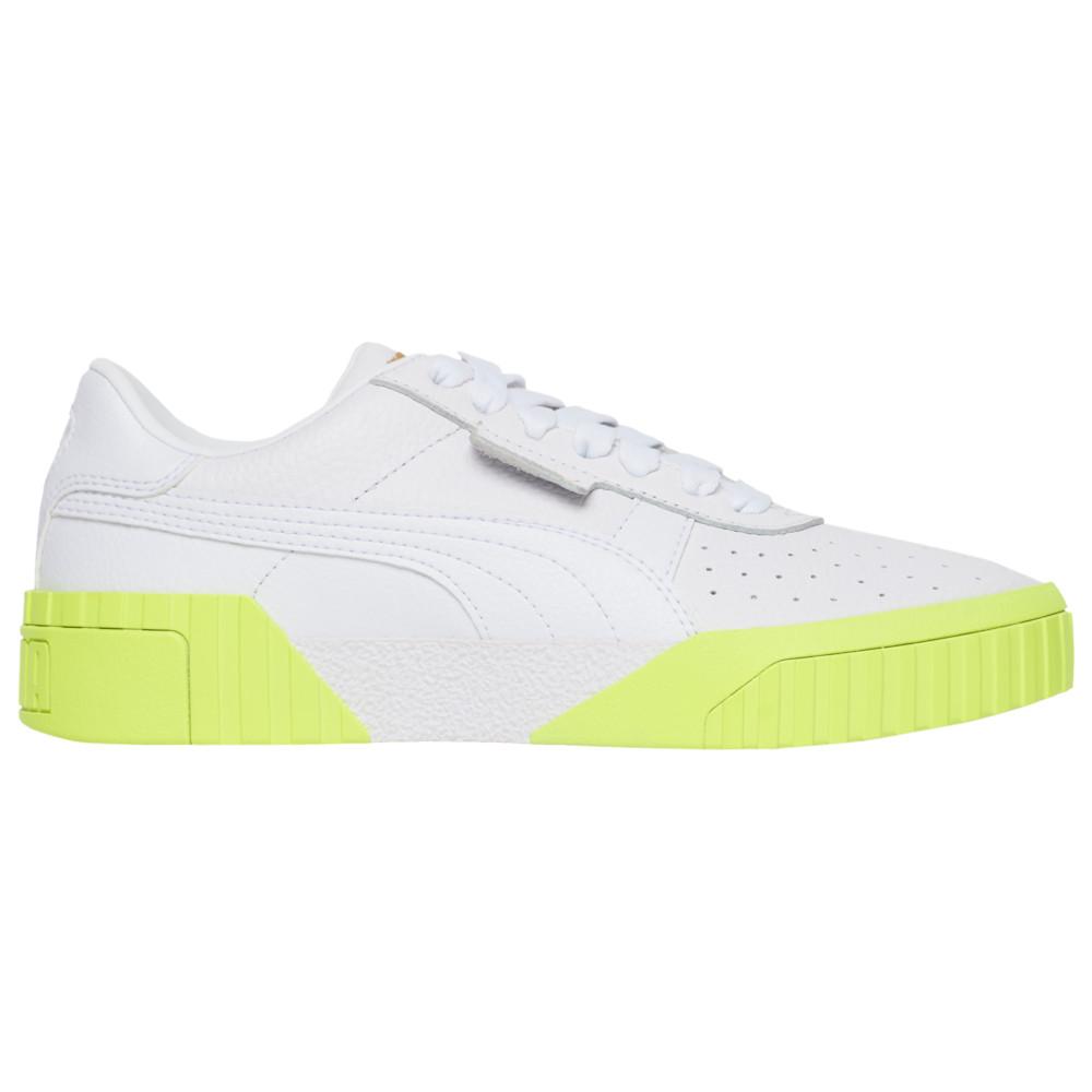 プーマ PUMA レディース フィットネス・トレーニング シューズ・靴【Cali】White/Team Gold/Yellow Alert