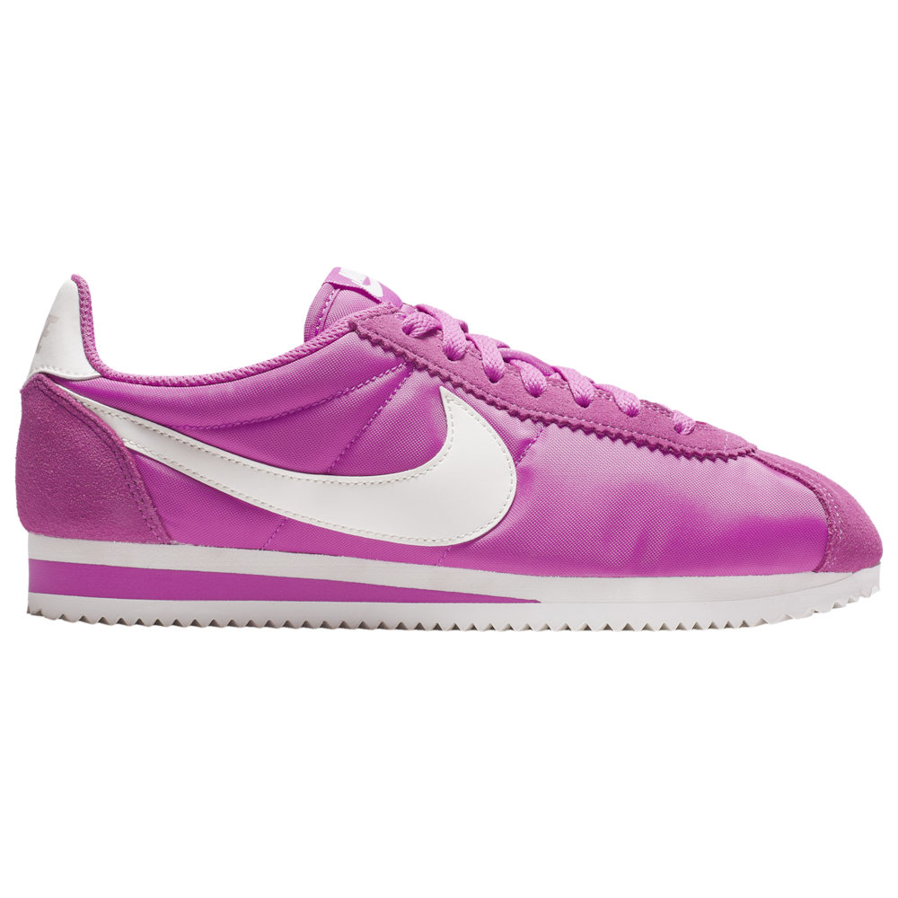 ナイキ Nike レディース スニーカー シューズ・靴【Classic Cortez Nylon】Active Fuchsia/Sail/Summit White