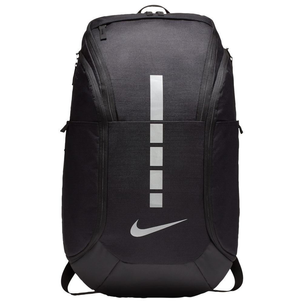ナイキ Nike ユニセックス バックパック・リュック バッグ【Hoops Elite Pro Backpack】Black/Metallic Cool Gray