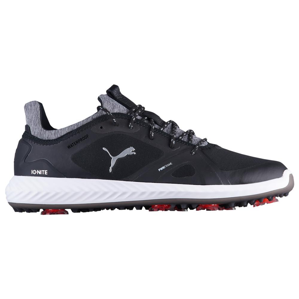 プーマ PUMA メンズ ゴルフ シューズ・靴【Ignite Power Adapt Golf Shoes】Black/White