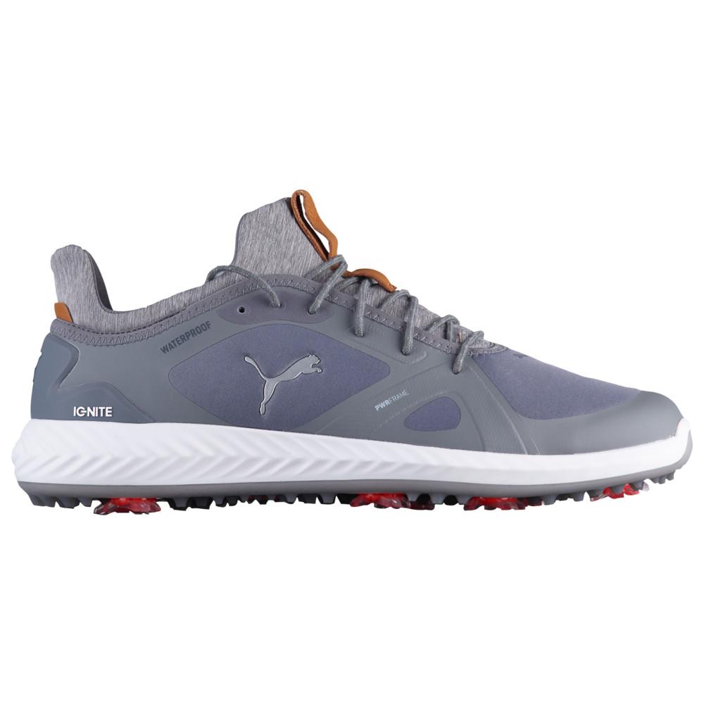 プーマ PUMA メンズ ゴルフ シューズ・靴【Ignite Power Adapt Golf Shoes】Quiet Shade/Quiet Shade
