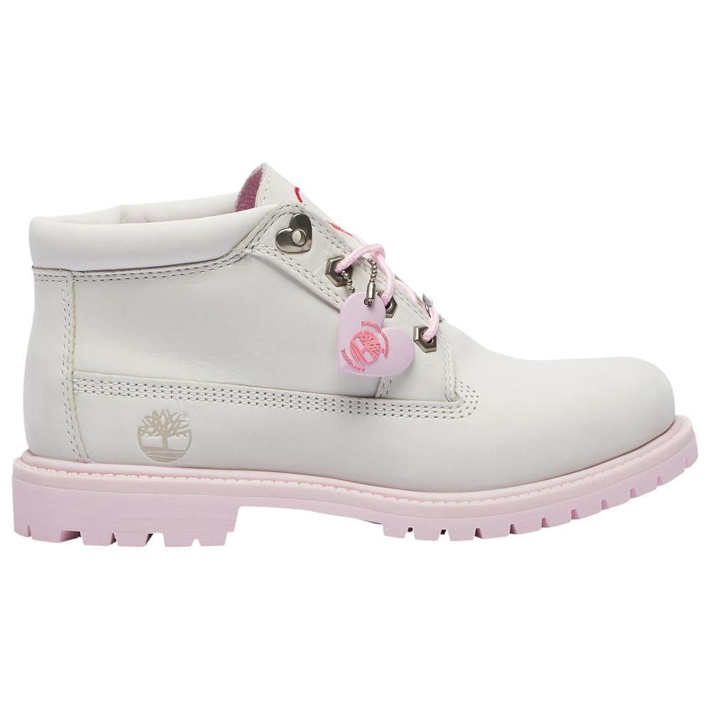 ティンバーランド Timberland レディース ブーツ チャッカブーツ シューズ・靴【Nellie Chukka Double Waterproof Boot】White Nubuck