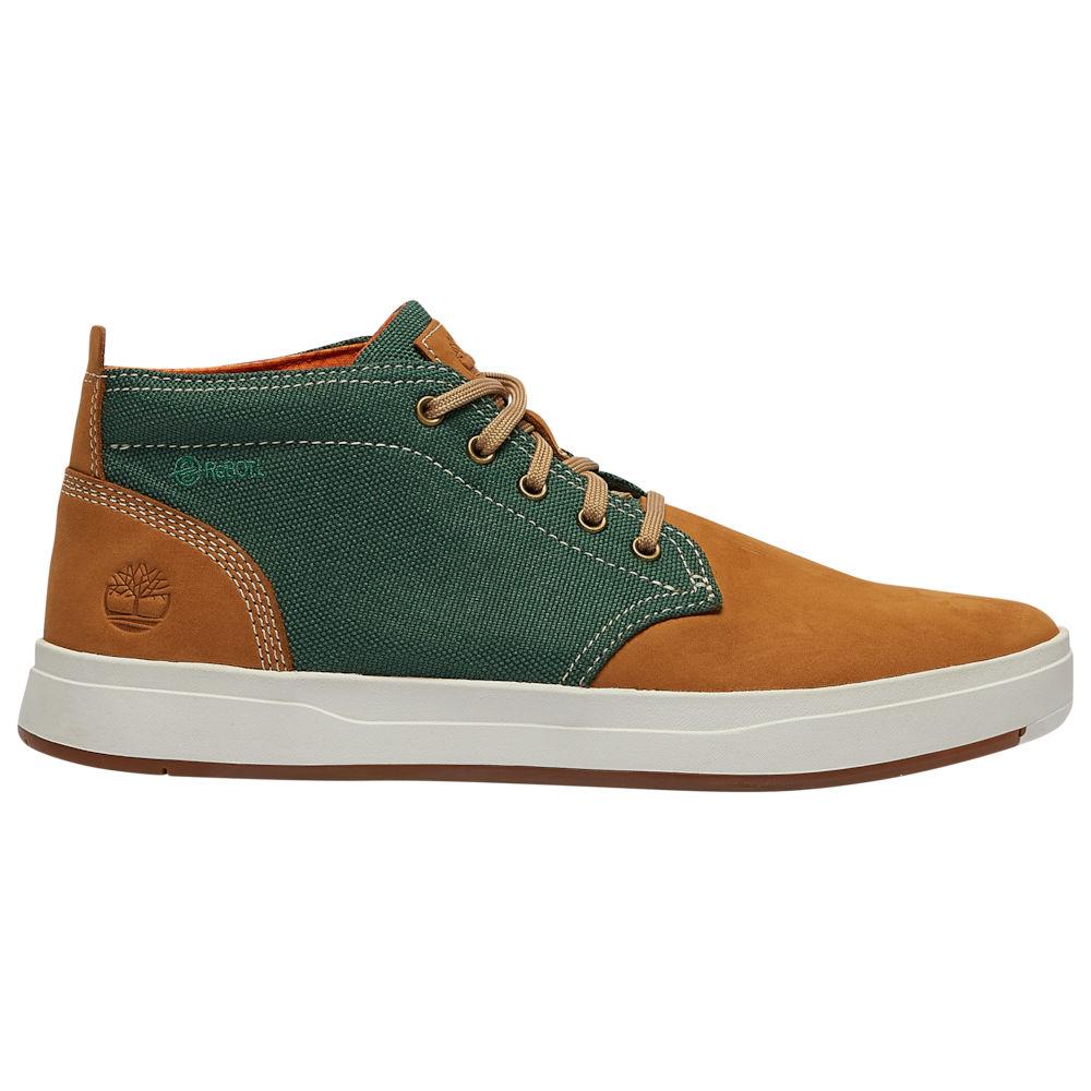 ティンバーランド Timberland メンズ ブーツ チャッカブーツ シューズ・靴【Davis Square Chukka】Wheat Nubuck/Green